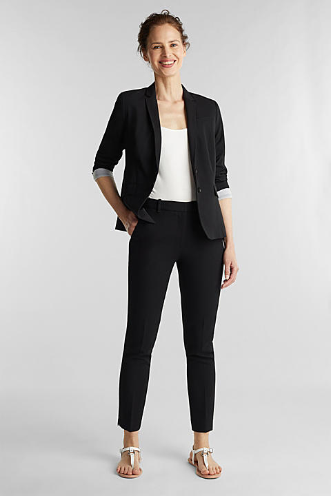 Taillierter Business-Blazer mit Stretch
