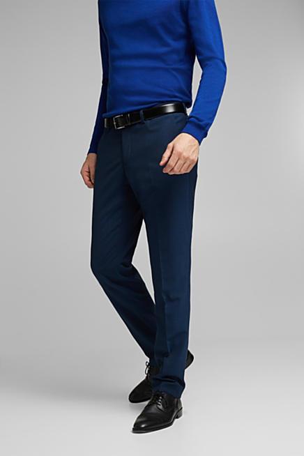 dc0a2aacb9 CLASSIC BLUE Mix + Match: Anzughose mit Wolle