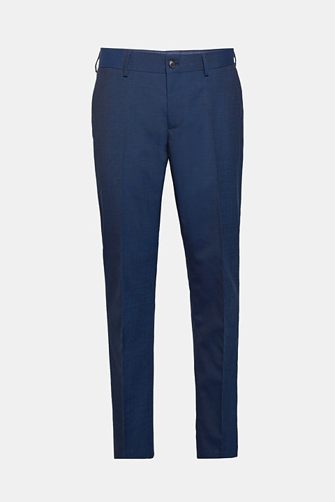 CLASSIC BLUE mix + match: suit trousers with wool