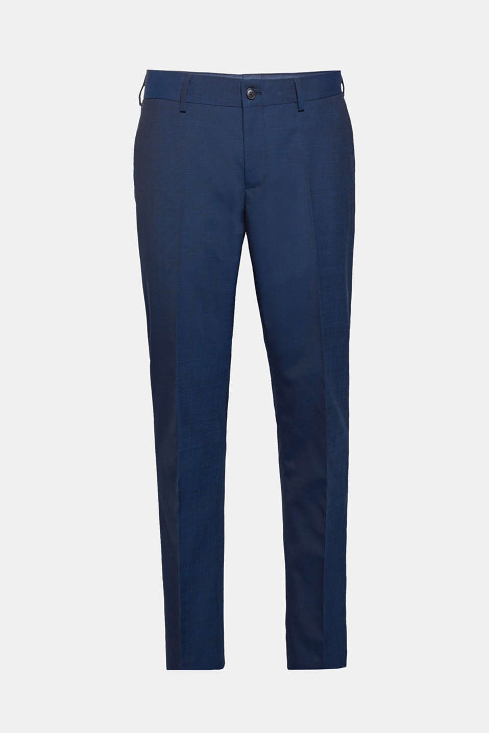 CLASSIC BLUE mix + match: suit trousers with wool, NAVY, detail image number 5