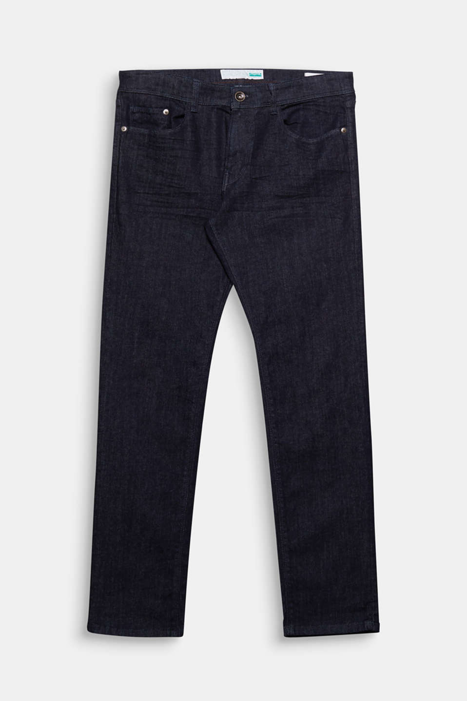 5 pockets jeans made of comfy and stretchy, organic cotton in a classic rinse wash