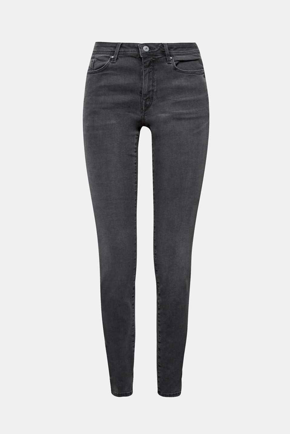 These skinny jeans are exceptionally soft, slim fitting and ultra stretchy and comfortable in partially recycled material!
