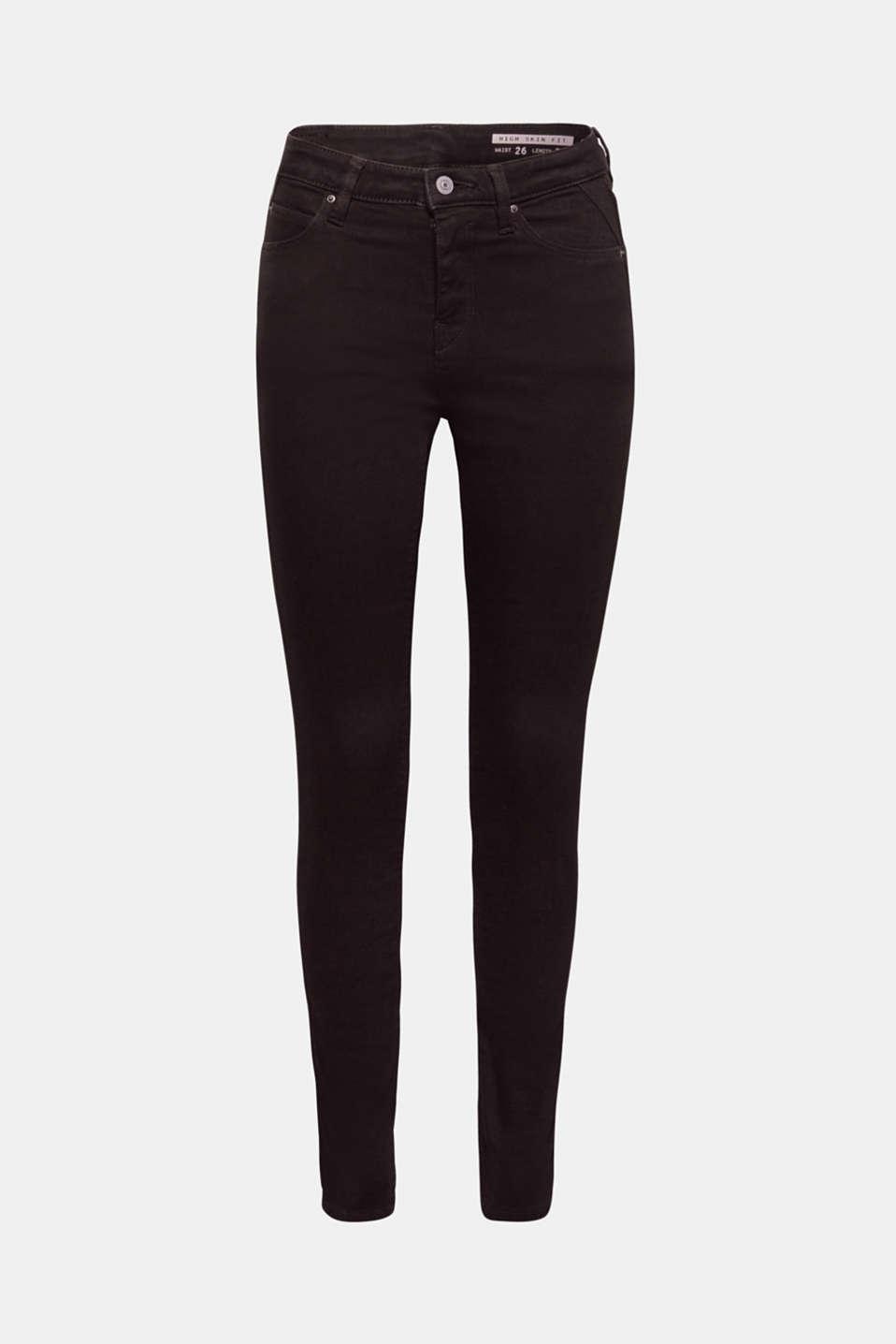 edc Stretch Jeans mit hohem Bund, Recycled im Online Shop