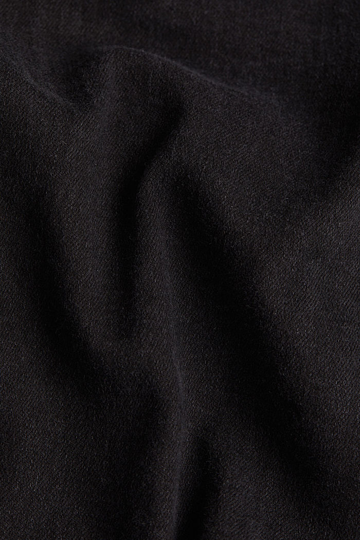 Organic cotton blend jeggings, BLACK RINSE, detail image number 4