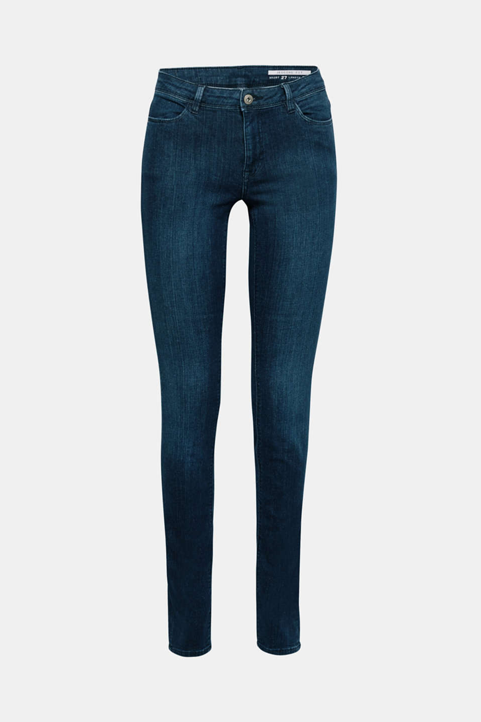Your versatile basic jeans made with gently processed, high-quality organic cotton: These jeans in stretch denim are super comfy and create a stunning silhouette.