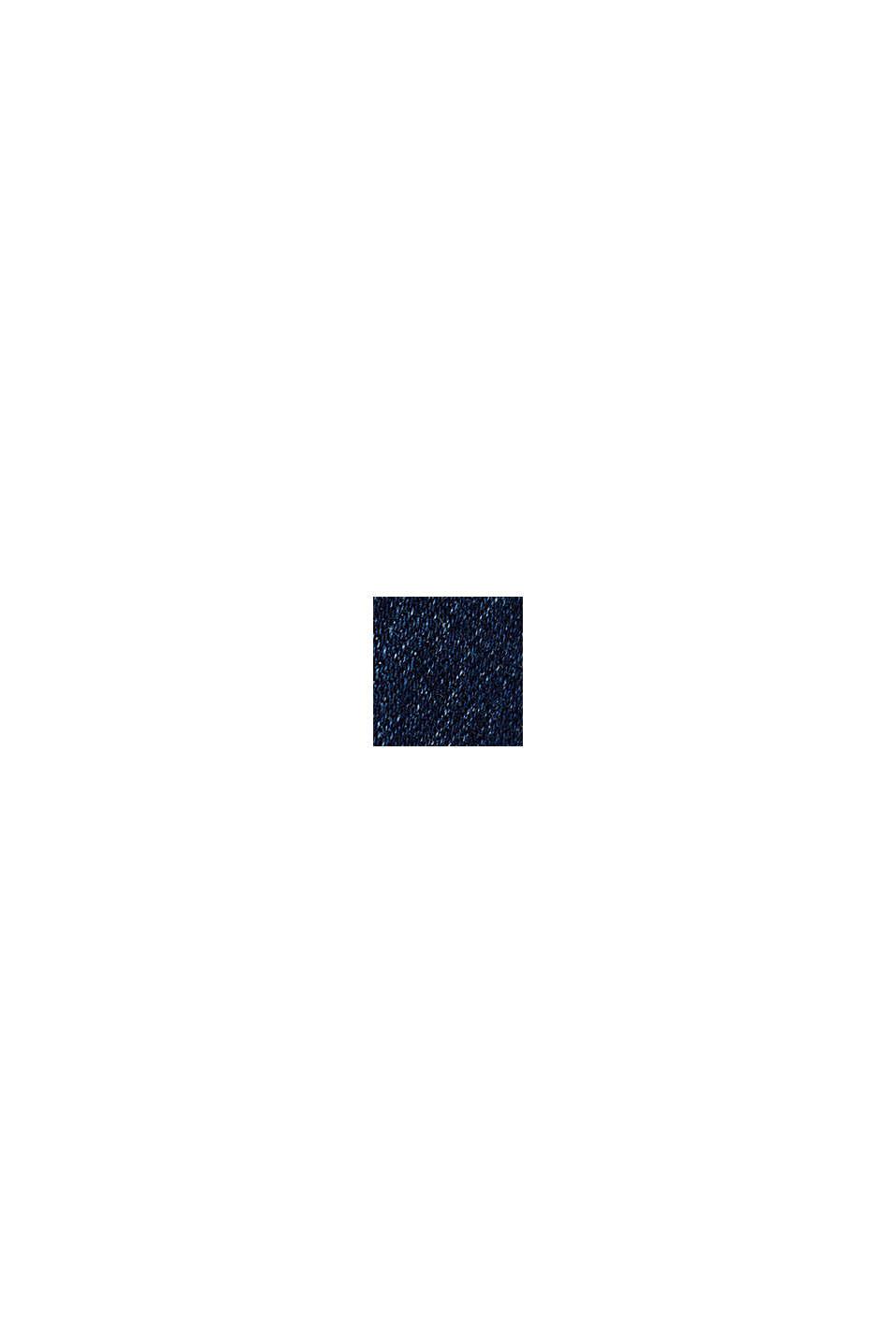 Jegging à teneur en coton biologique, BLUE DARK WASHED, swatch