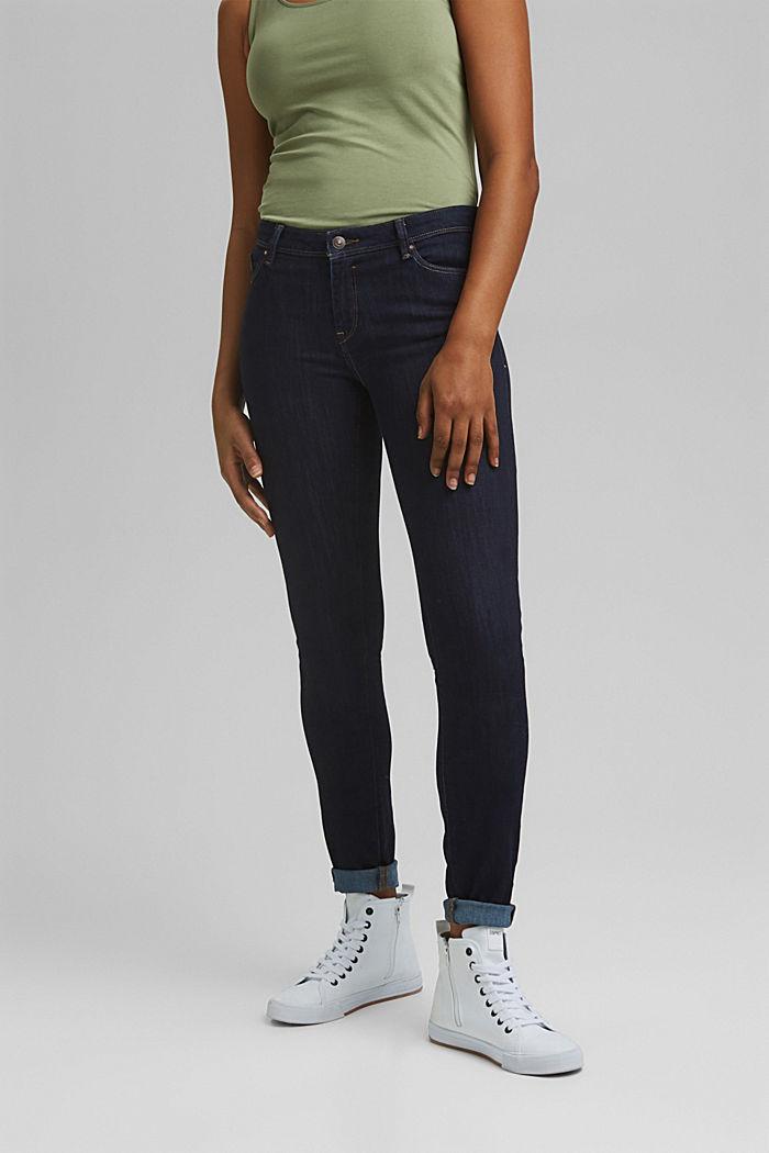 Jeans mit Bio-Baumwolle, BLUE RINSE, detail image number 0