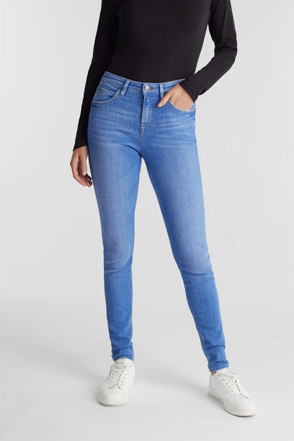 edc - Stretch jeans containing organic cotton