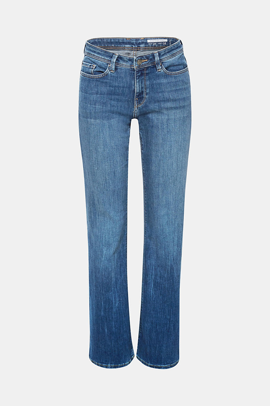 Jean stretch de coupe bootcut, recyclé