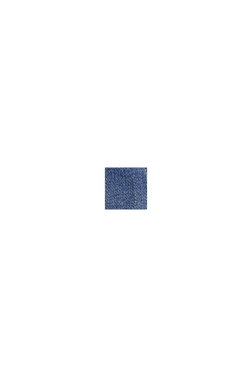 Stretch-Jeans mit Wrinkle-Effekten, recycelt, BLUE LIGHT WASHED, swatch