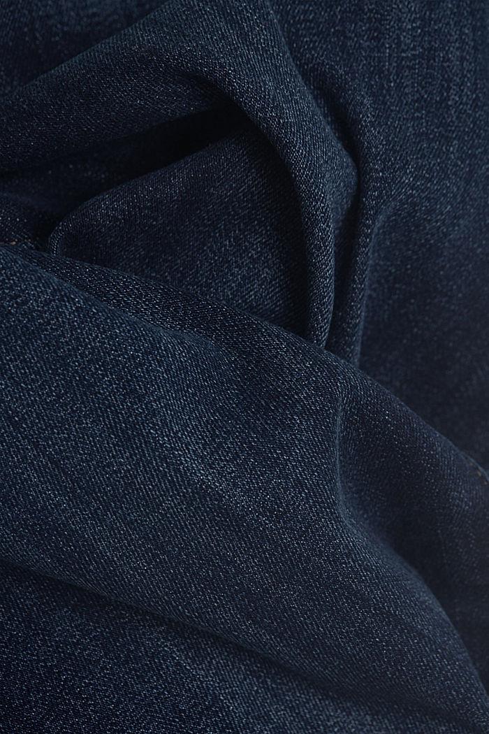 Vaqueros con tira de botones, BLUE DARK WASHED, detail image number 4