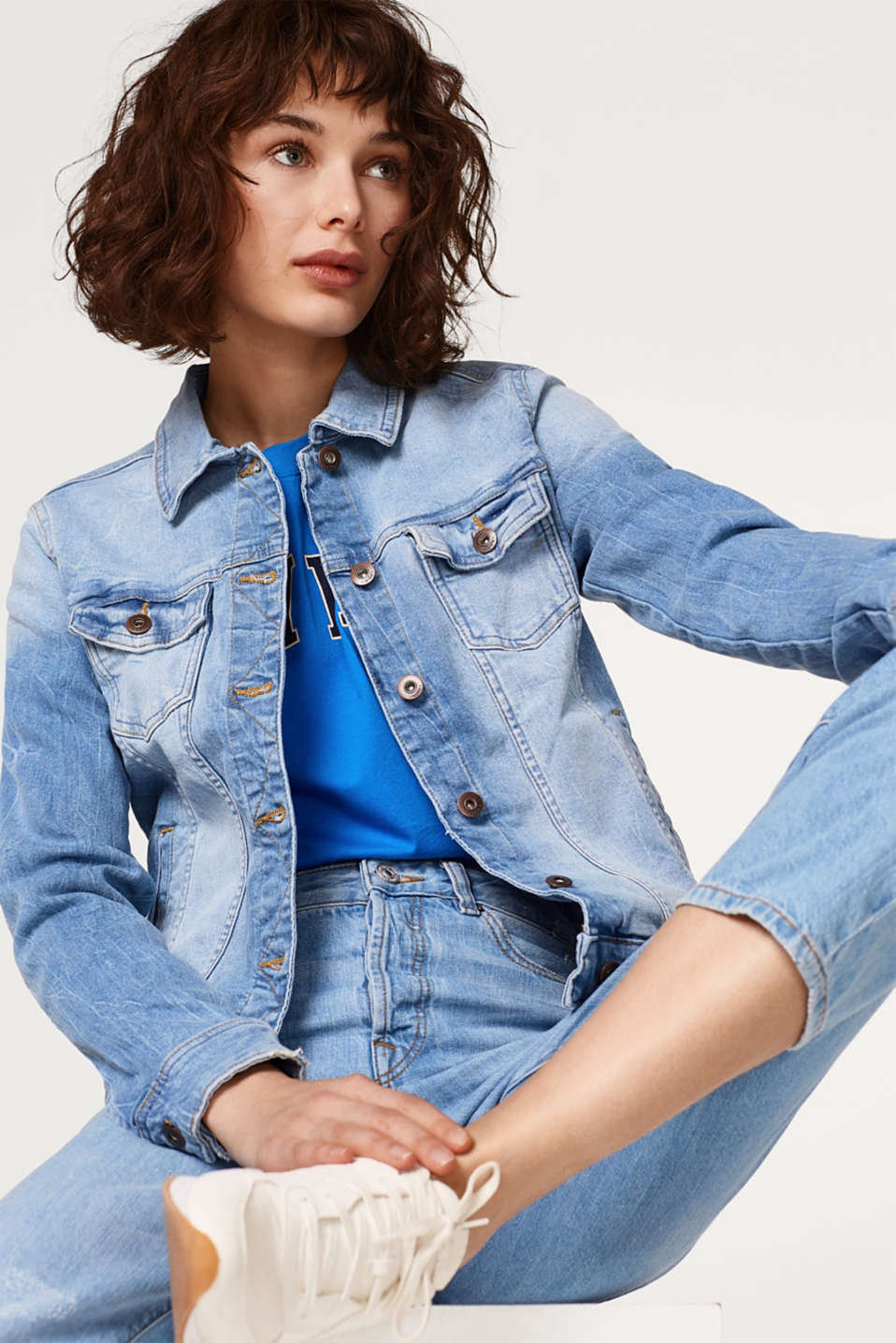 edc - Stretch denim jacket
