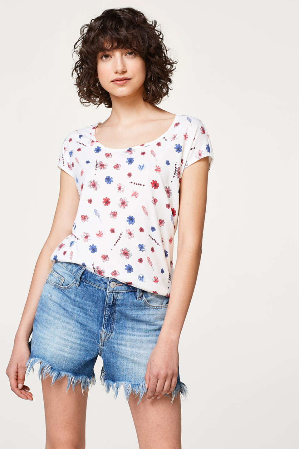 edc - Print t-shirt with organic cotton