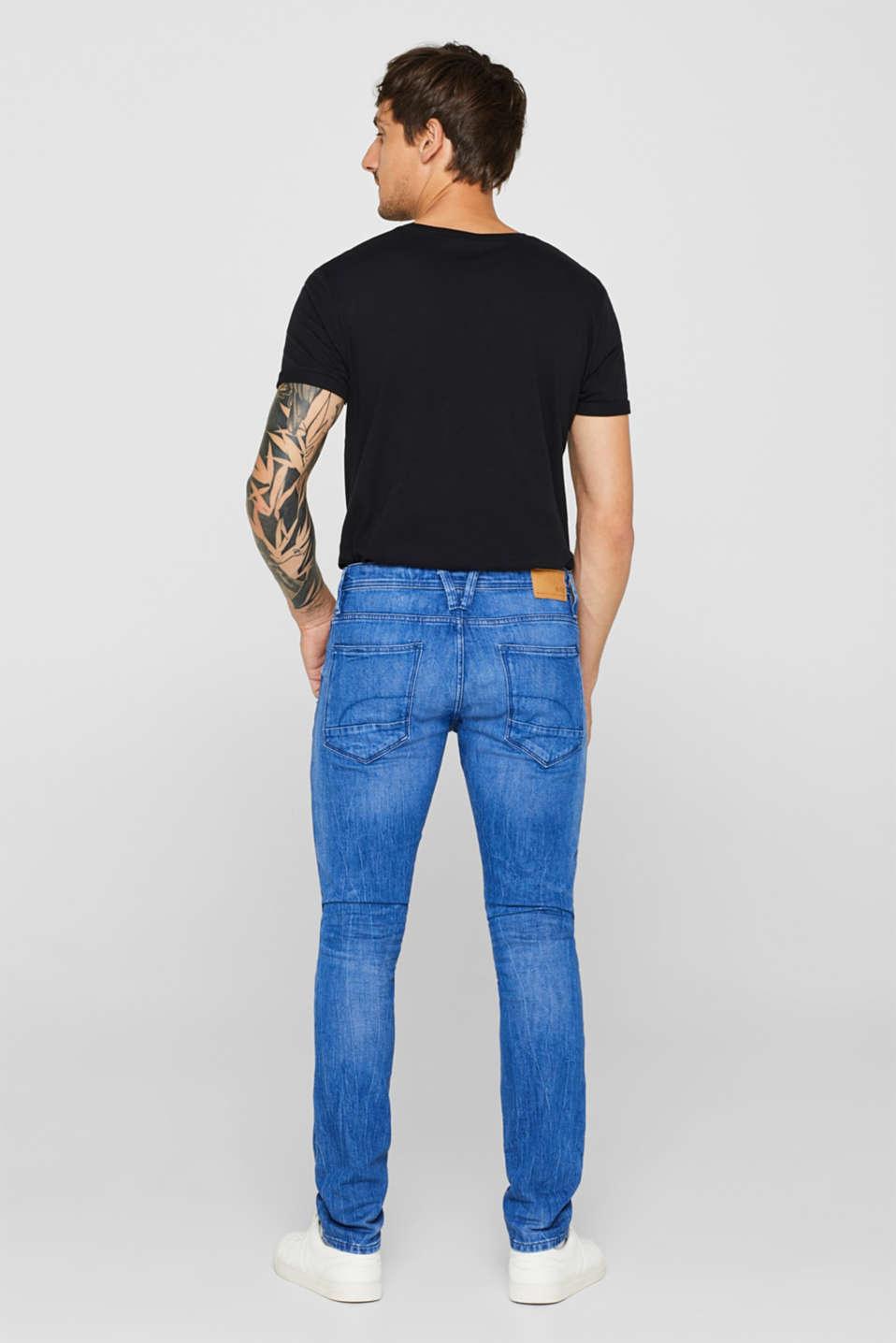 Pants denim, BRIGHT BLUE, detail image number 1