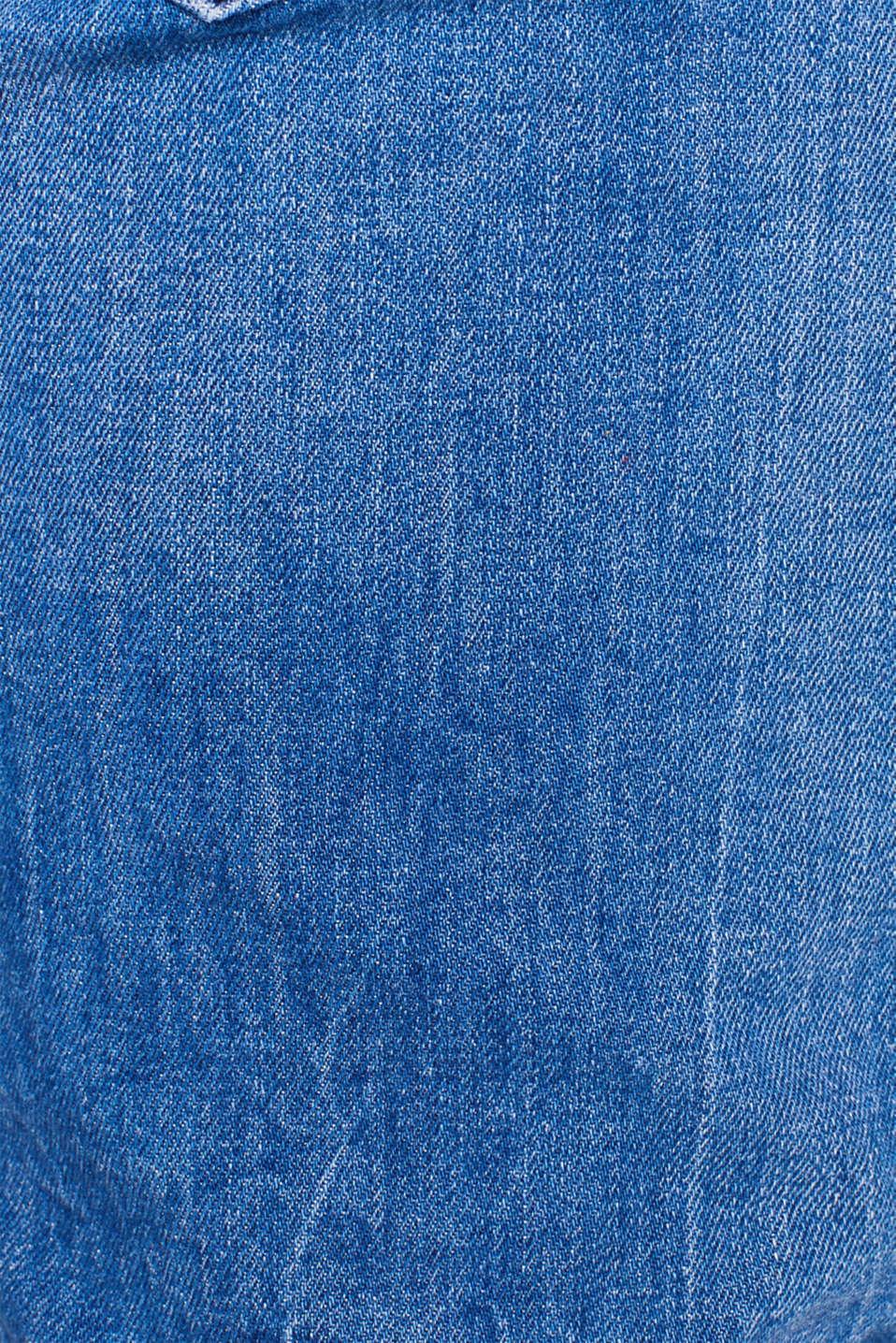 Pants denim, BRIGHT BLUE, detail image number 4