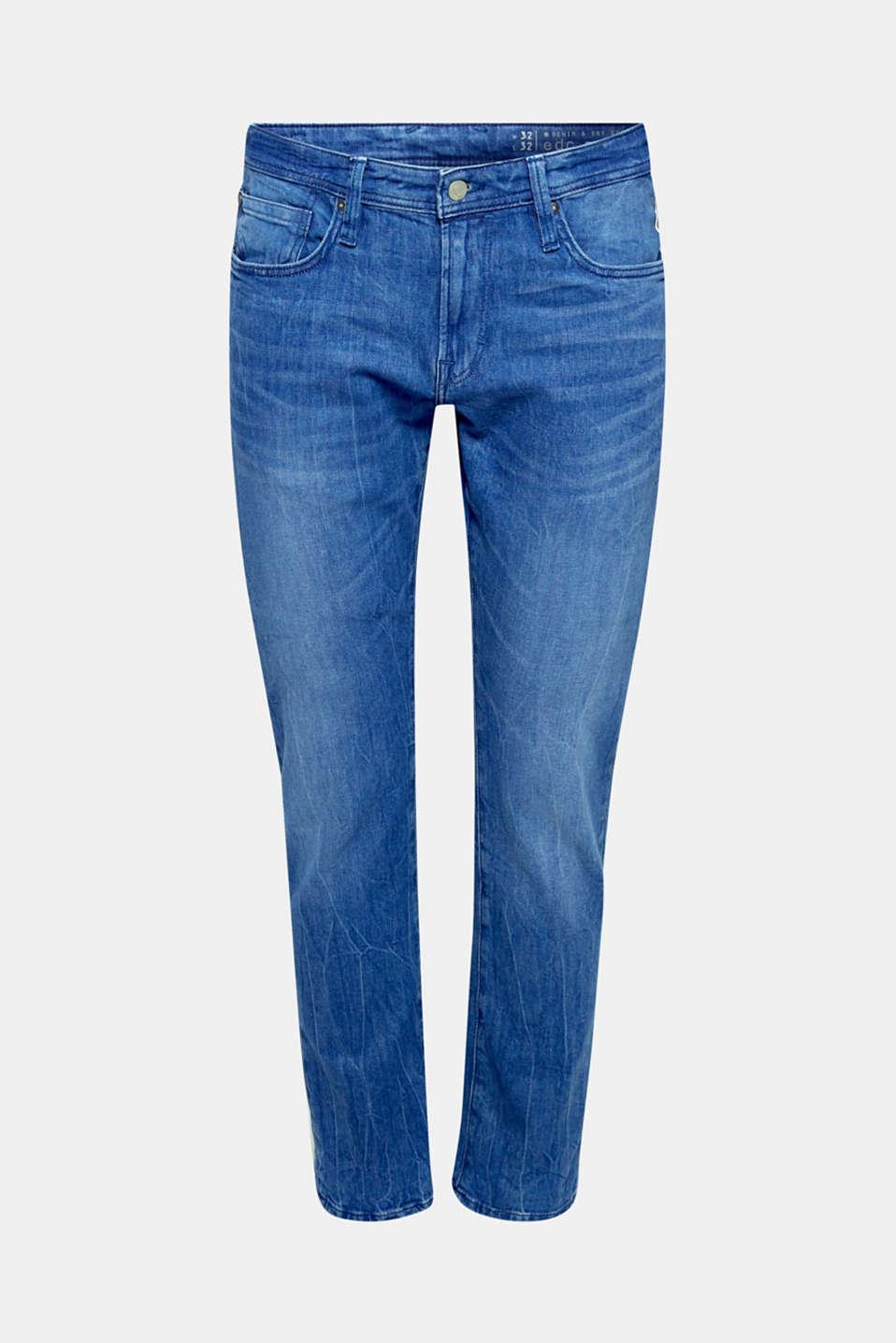 Pants denim, BRIGHT BLUE, detail image number 5
