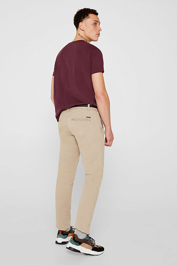 Stretch-Chino, LIGHT BEIGE, detail image number 3