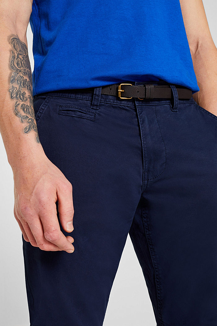 Stretch-Chino, NAVY, detail image number 5