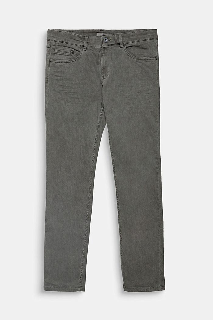 Stretch-Jeans mit Pigmentfärbung, ANTHRACITE, detail image number 0