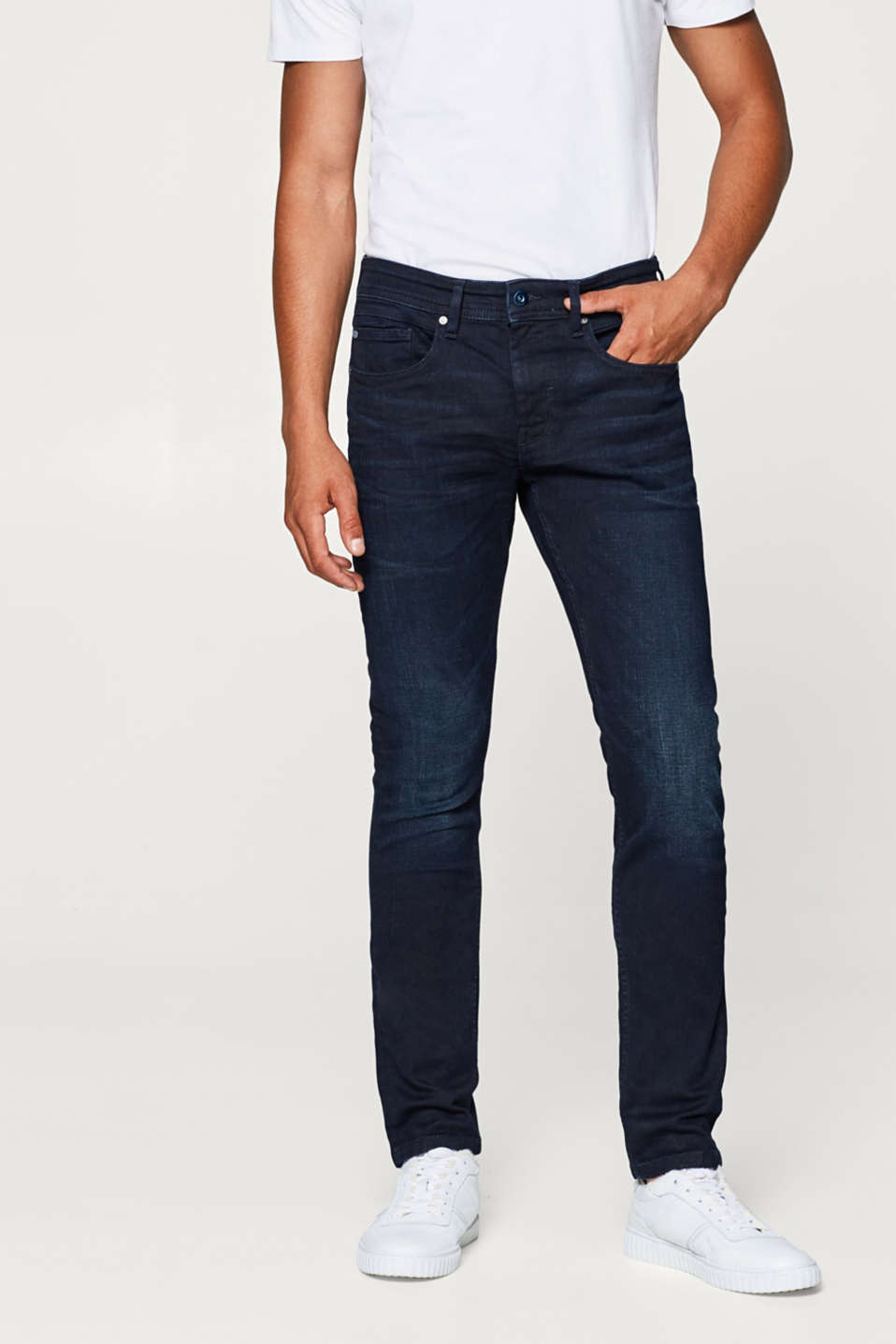 edc - Stretch jeans in a dark wash