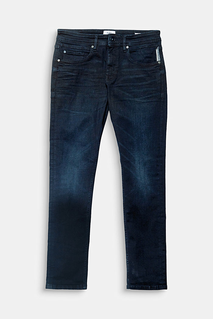 Stretch-Jeans mit dunkler Waschung, BLUE DARK WASH, detail image number 0