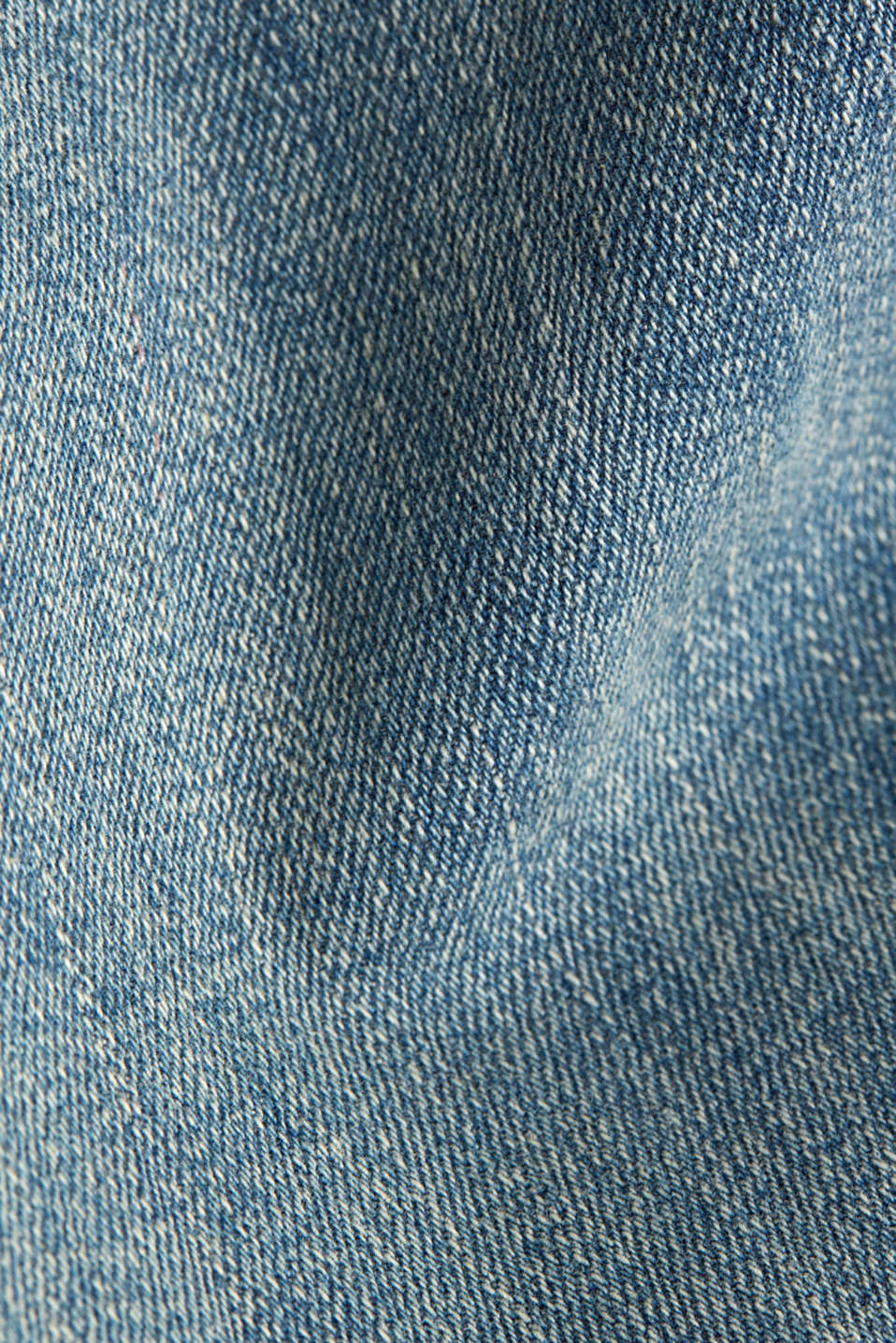 Super stretch jeans with vintage effects, BLUE LIGHT WASH, detail image number 4