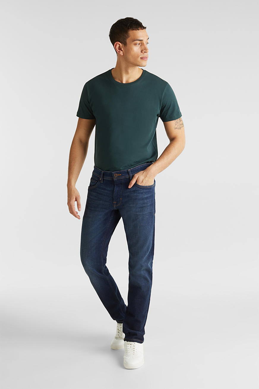 Basis-jeans med stretch