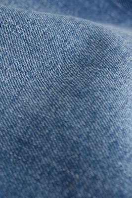 Basic jeans with stretch, BLUE MEDIUM WASH, detail