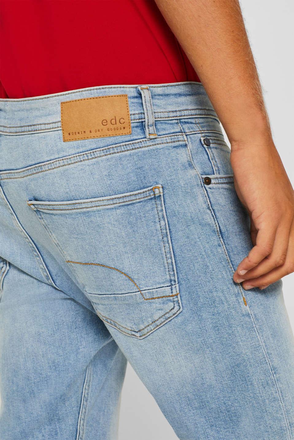 Pants denim Slim fit, BLUE LIGHT WASH, detail image number 3