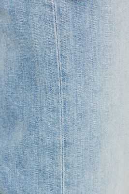Basic jeans with stretch, BLUE LIGHT WASH, detail