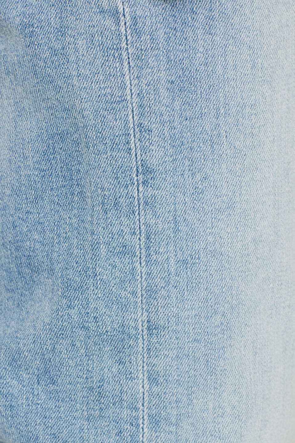 Basic jeans with stretch, BLUE LIGHT WASH, detail image number 4