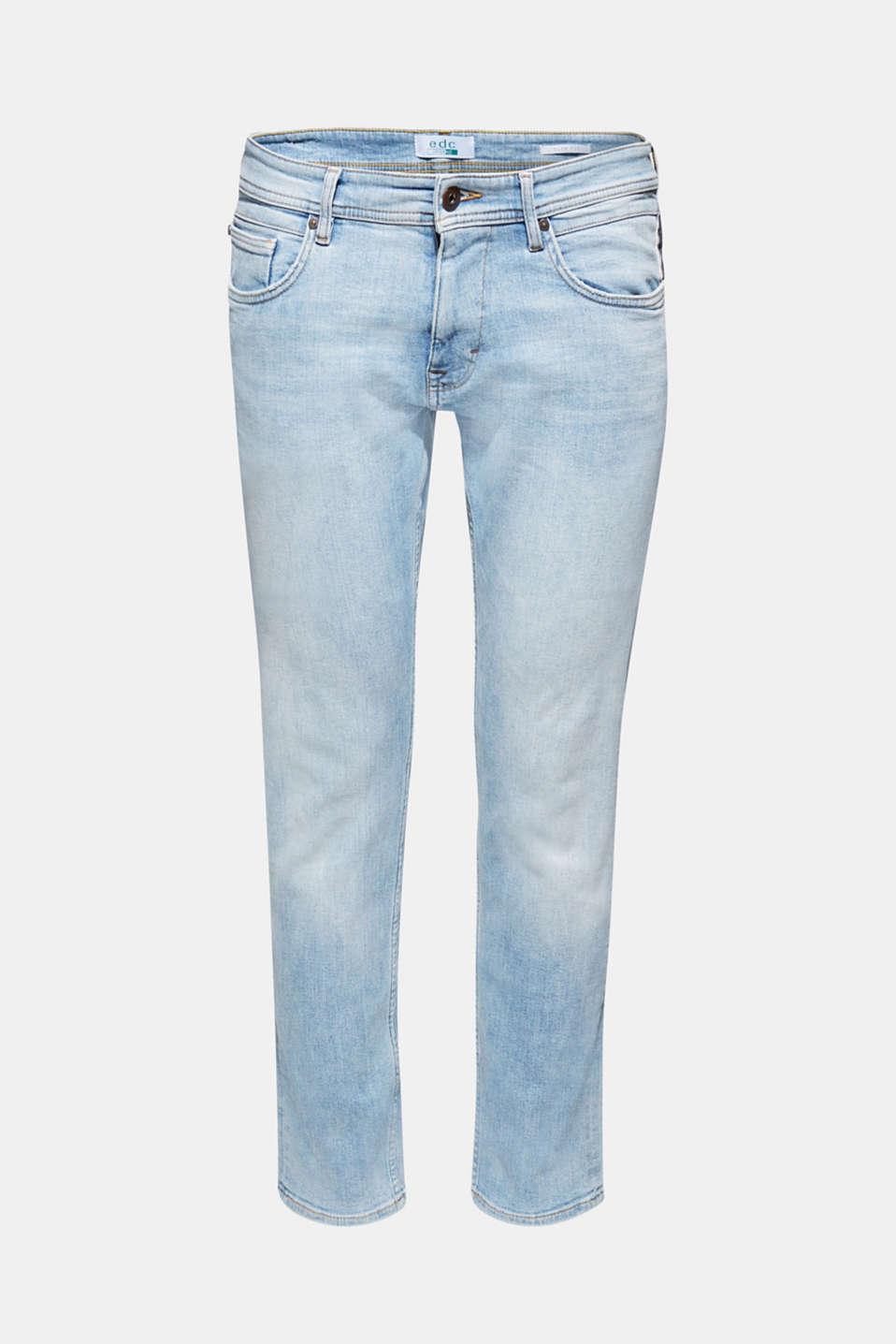 Pants denim Slim fit, BLUE LIGHT WASH, detail image number 6