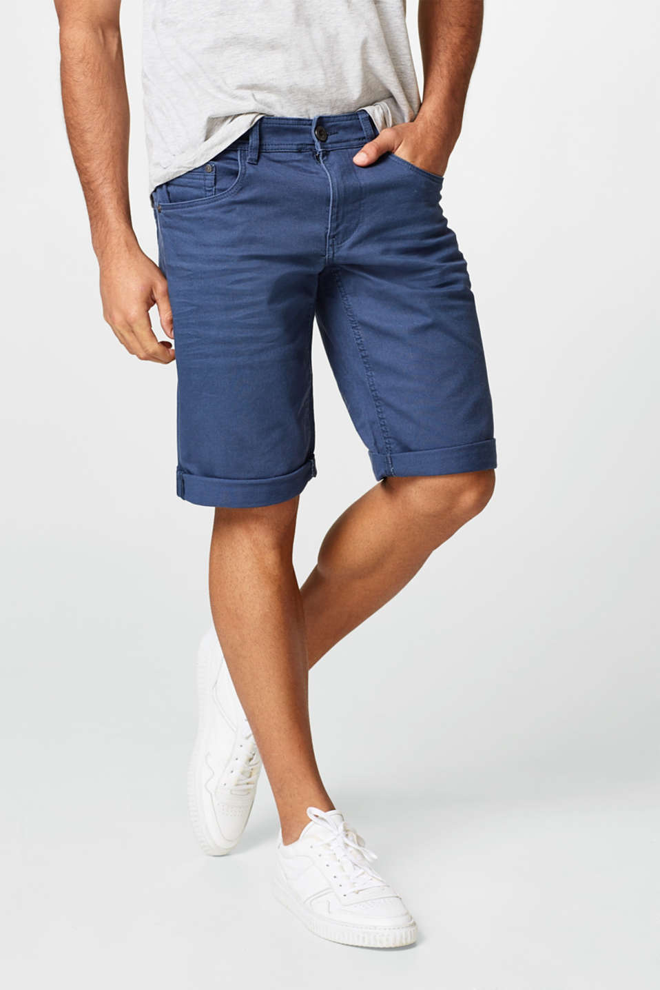 edc - Stretch denim shorts with a slim fit