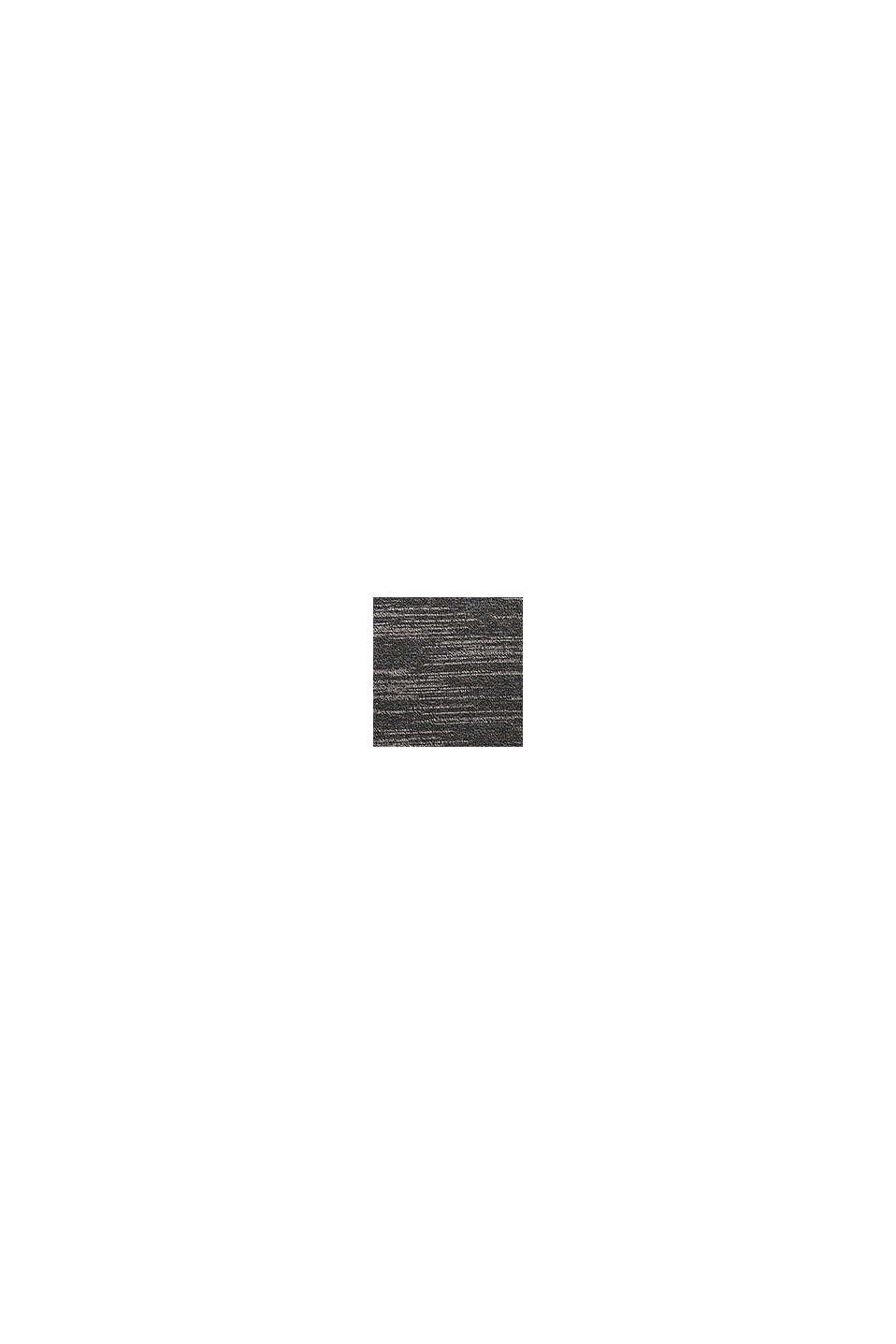 Tweekleurige trui, katoenmix, BLACK, swatch