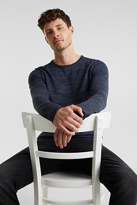 Grof Gebreide Zwarte Trui.Esprit Gebreide Truien En Sweaters Voor Heren Kopen In De Online Shop