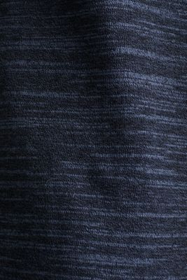 Jumper made of bi-colour blended cotton yarn, NAVY, detail