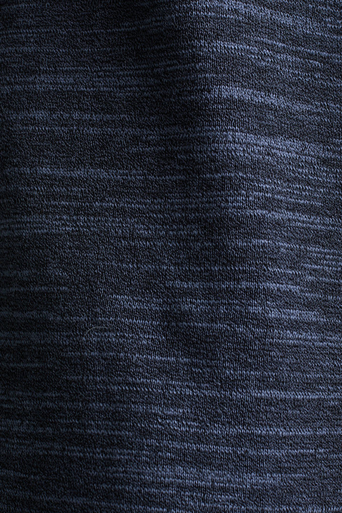 Two-tone jumper, cotton blend, NAVY, detail image number 3