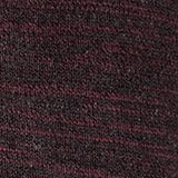 Jumper made of bi-colour blended cotton yarn, BORDEAUX RED, swatch