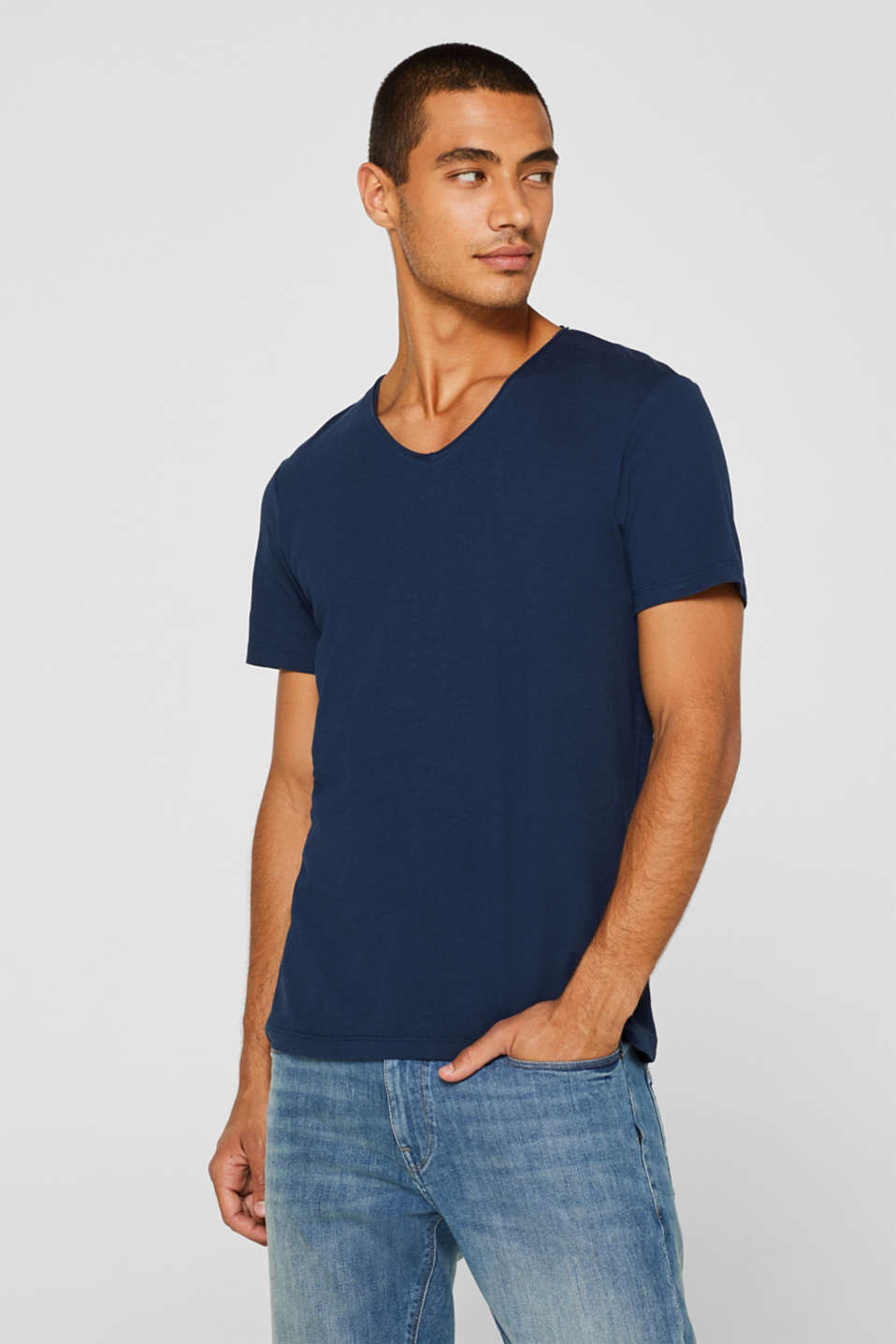 edc - Basic jersey T-shirt, 100% cotton