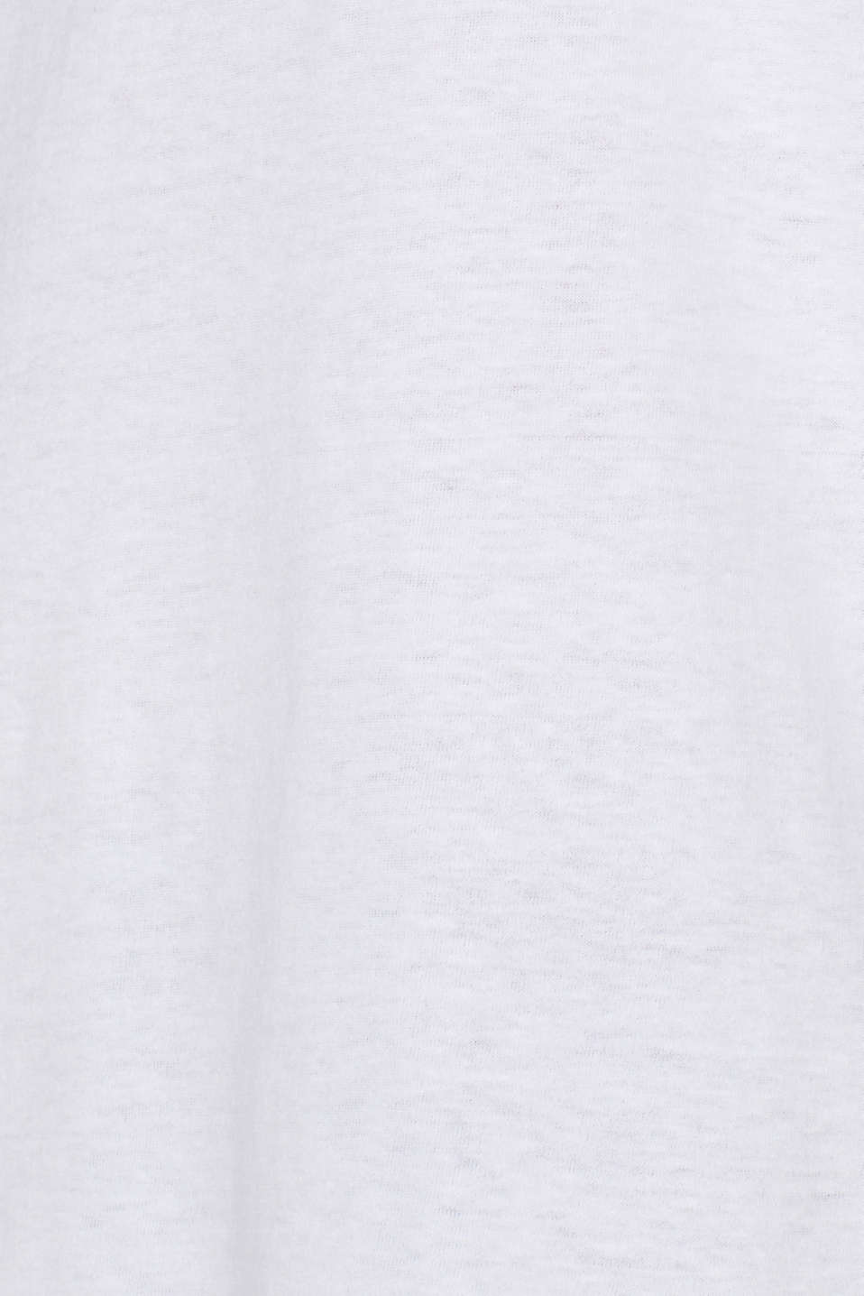 Jersey cotton top, WHITE, detail image number 4