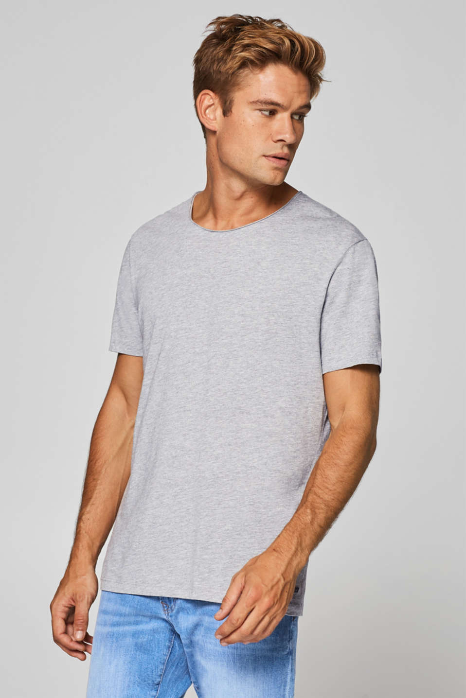 edc - Jersey-Shirt aus Organic Cotton