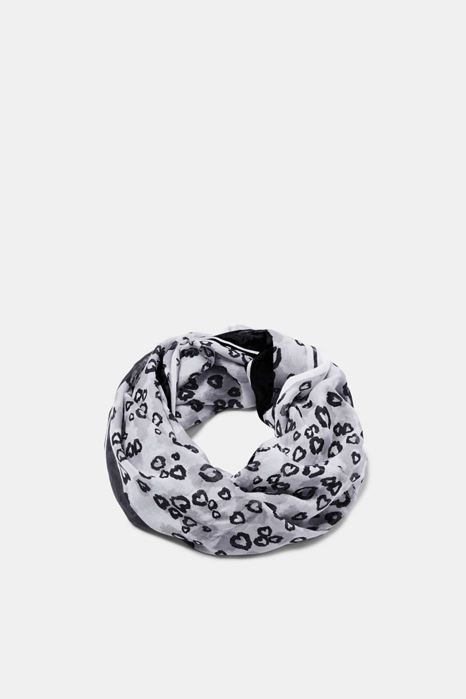 Esprit - Snood with a heart print