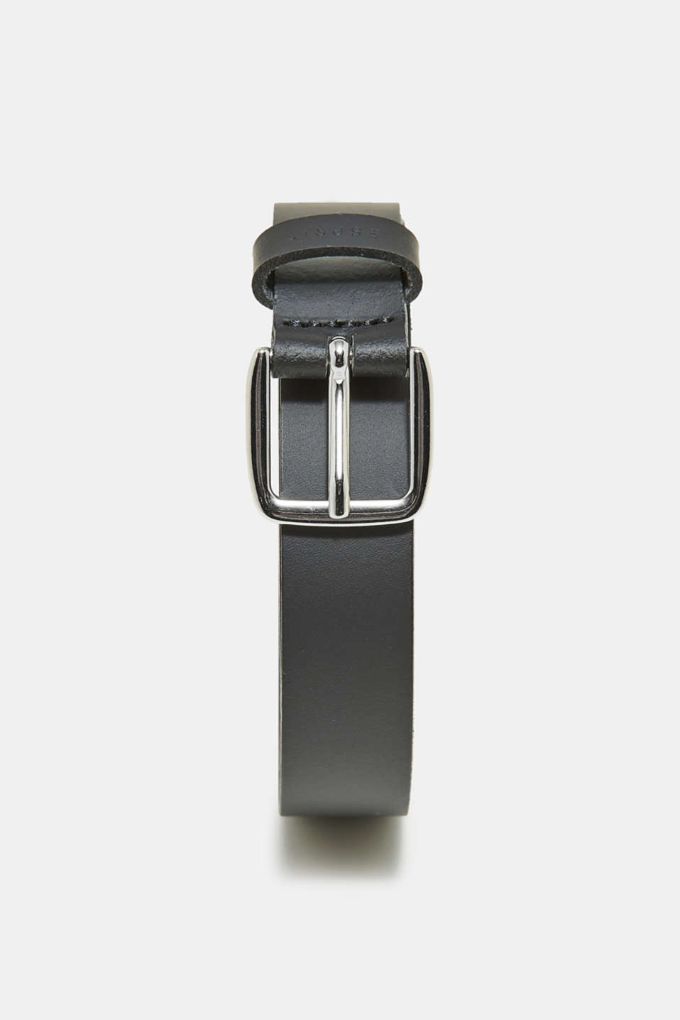 Esprit - Narrow smooth leather belt