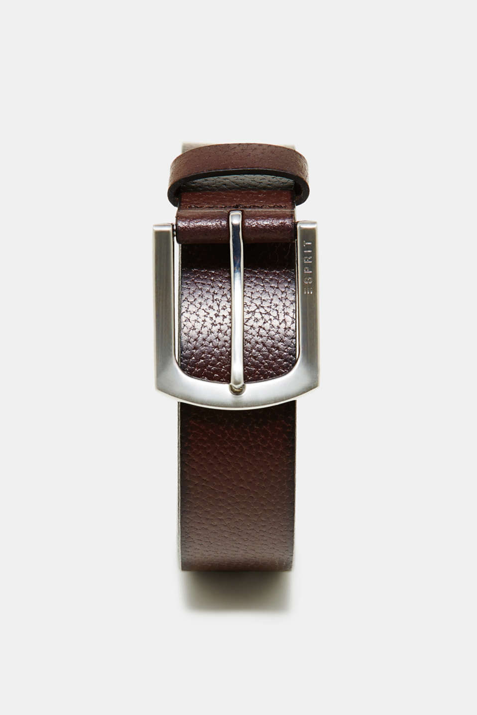 Esprit - Belt made of finely grained buffalo leather
