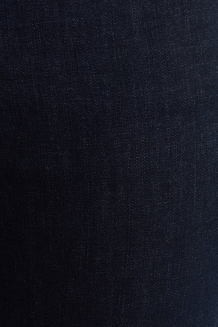 Super stretch jeans made of organic cotton, BLUE RINSE, detail image number 4