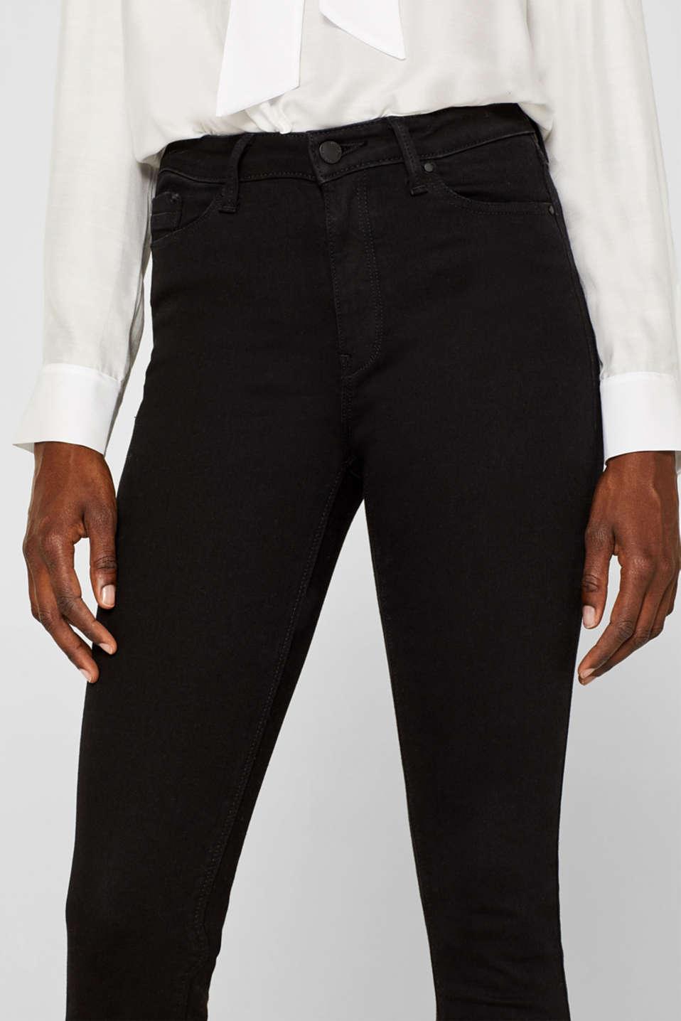 Pants denim, BLACK RINSE, detail image number 1