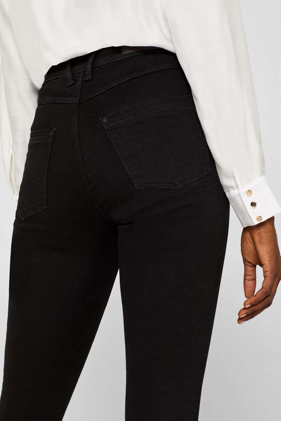 Pants denim, BLACK RINSE, detail image number 6