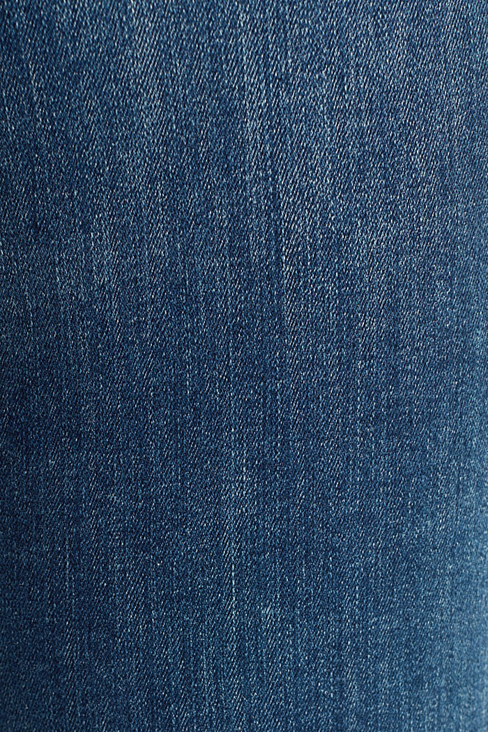 Stretch-Jeans mit Organic Cotton, BLUE DARK WASHED, detail image number 4