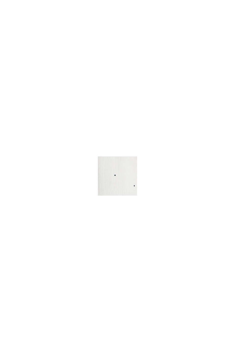 Tupfen-Bluse mit Turn-up-Ärmeln, OFF WHITE, swatch