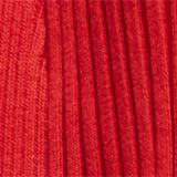 Reciclado: cárdigan abierto de canalé, NEW RED, swatch